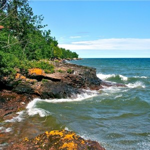 Cedar Cliff Lake Superior